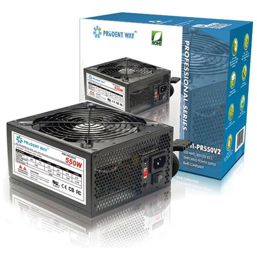 Prudent Way 550W Smart Fan Control Power Supply PWI-PR550-V2