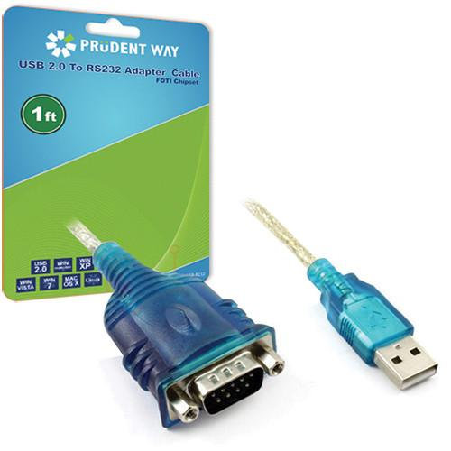 Prudent Way  USB to RS232 Adapter PWI-U2-RS232