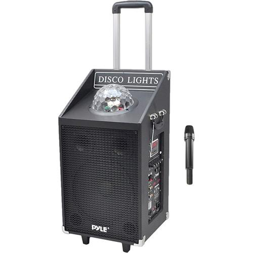 Pyle Pro Disc Jam 600-Watt Portable PA Speaker PWMA1594UFM