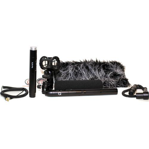 Que Audio Q 210 Hybrid Shotgun Microphone Kit Q210H-KIT