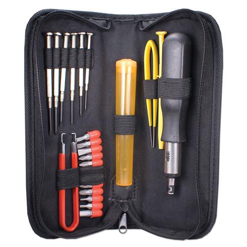 QVS 23-Piece Computer Maintenance Tool Kit with Precision CA215P