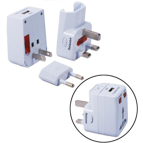 QVS  Premium World Power Travel Adapter PA-C2