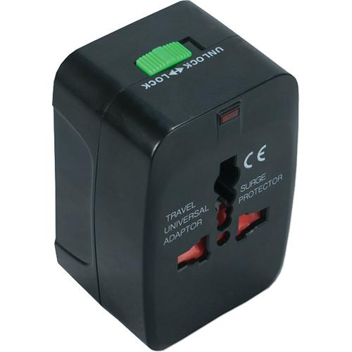 QVS World Power Travel Adapter Kit with Surge Protection PA-C3