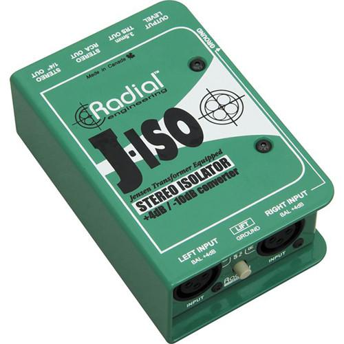 Radial Engineering J-ISO Stereo 4 dB to -10 dB R800 1025