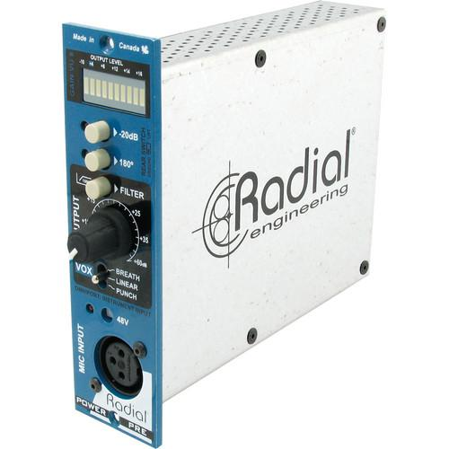 Radial Engineering PowerPre Microphone Preamplifier R700 0110