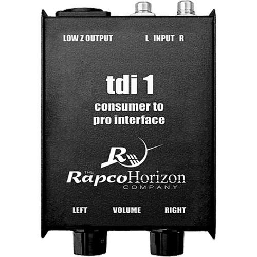 RapcoHorizon TDI-1 Consumer to Pro Interface TDI-1