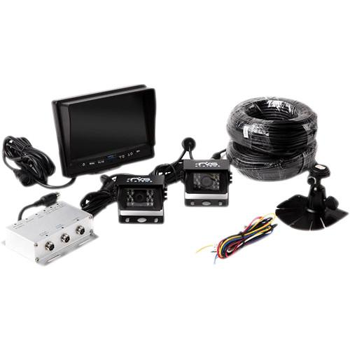 Rear View Safety RVS-770614 Camera System with Two RVS-770614