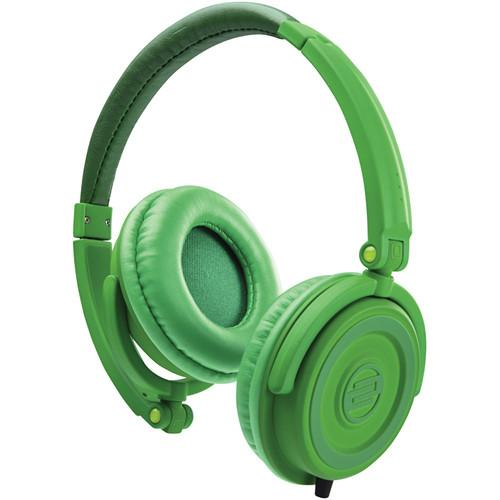 Reloop RHP-5 DJ Headphones (Leaf Green) RHP-5-LEAF