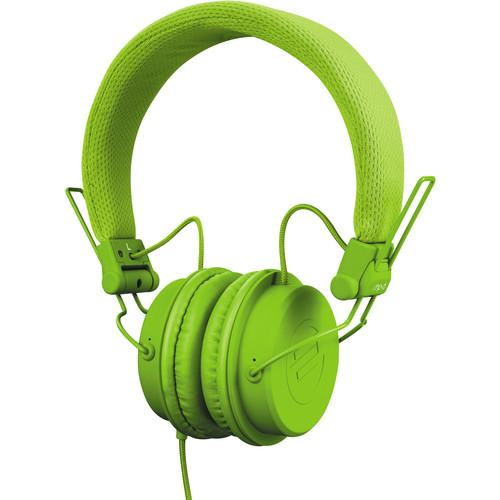 Reloop RHP-6 Series Headphones (Green) RHP-6-GREEN
