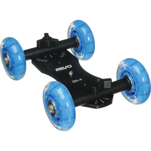 Revo Quad Skate Tabletop Dolly with Scale Marks DS-4