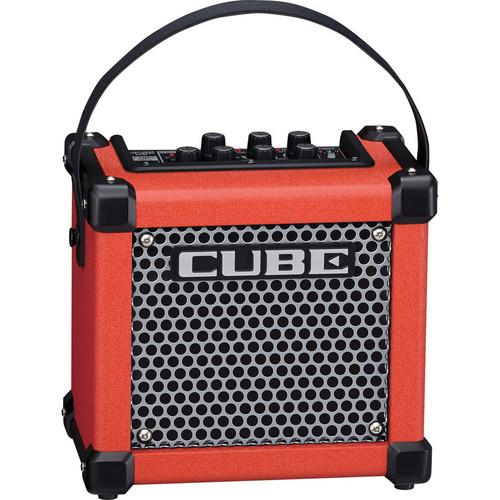 Roland Micro Cube GX Guitar Amplifier (Red) M-CUBE-GXR