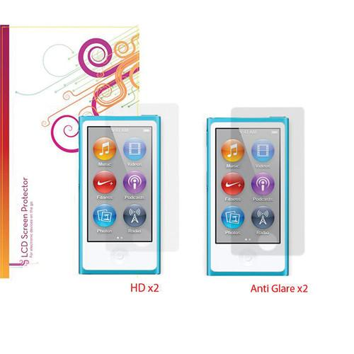 rooCASE Screen Protectors for Apple iPod nano RC-NANO7-SCPR-AGHD