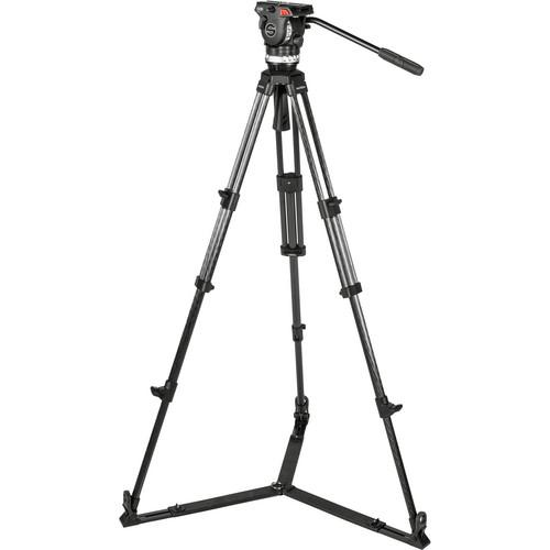 Sachtler Ace L GS CF Tripod System with Ground Spreader 1012