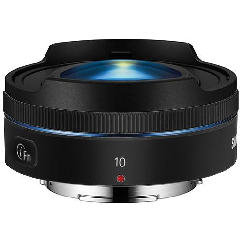 Samsung 10mm f/3.5 Fisheye Lens (Black) EX-F10ANB/US