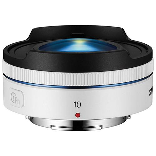 Samsung 10mm f/3.5 Fisheye Lens (White) EX-F10ANW/US