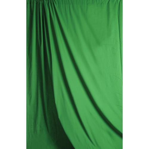 Savage 5 x 7' Chromakey Green Solid Colored Muslin SM46-0507