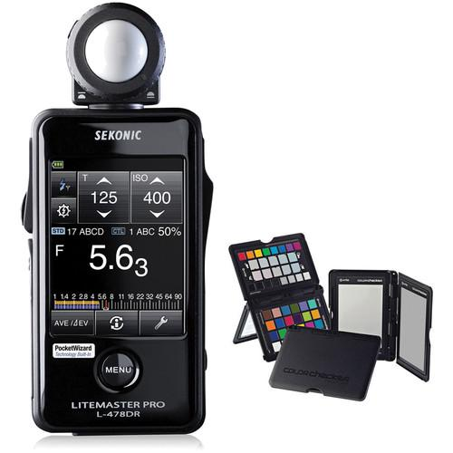Sekonic LiteMaster Pro L-478DR Light Meter and 401-479CCPP