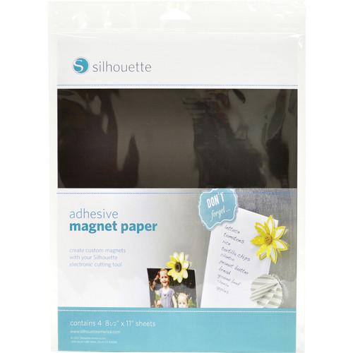 silhouette Printable Adhesive Magnet Paper MEDIA-MAGNET-ADH