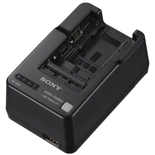 Sony  BC-QM1 InfoLithium Battery Charger BC-QM1