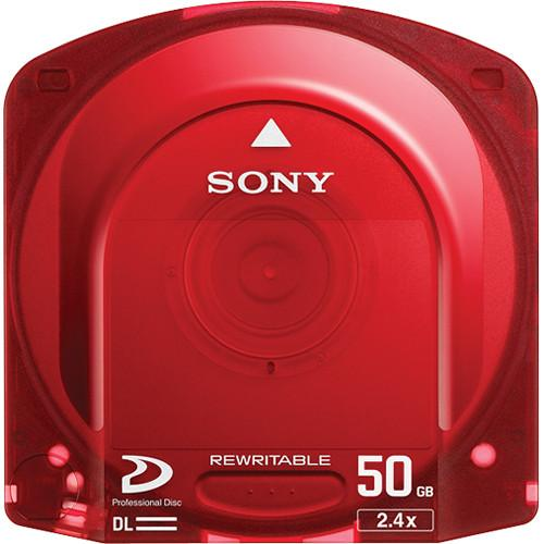 Sony Dual Layer Pre-Formatted Rewritable Optical Disc PFD50DLA/3