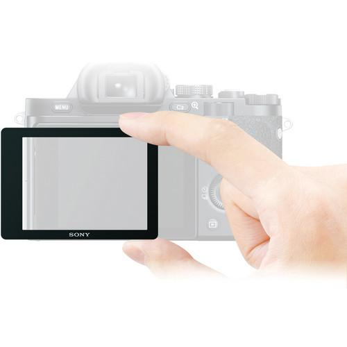 Sony Semi-Hard LCD Screen Protector for Alpha a7, a7R, PCKLM16