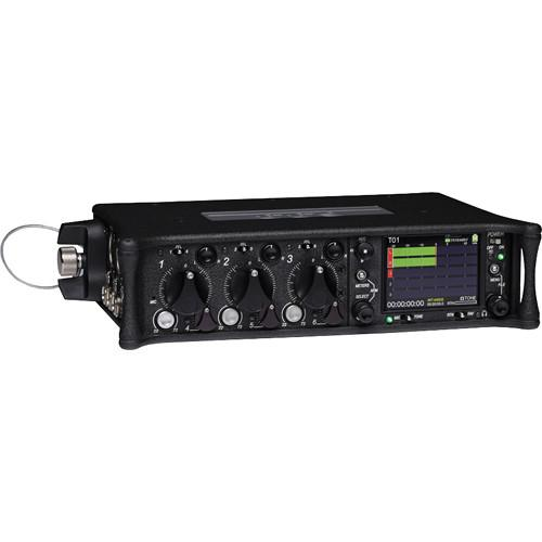 Sound Devices 633 6-Input Compact Field Mixer and 10-Track 633