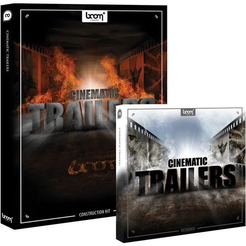 Sound Ideas CD ROM & DVD ROM: Cinematic SS-CINE-TRAIL-B