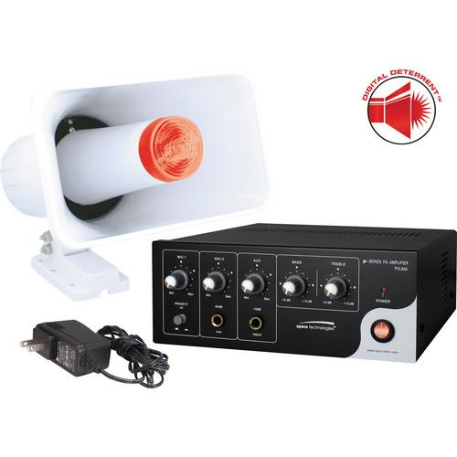 Speco Technologies Digital Deterrent Kit with 15W RMS DDAK2