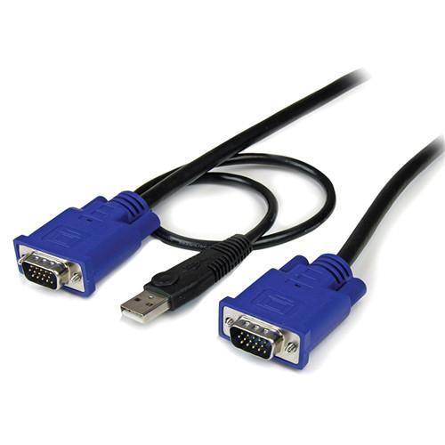 StarTech 2-in-1 Ultra Thin USB VGA KVM Cable SVECONUS10