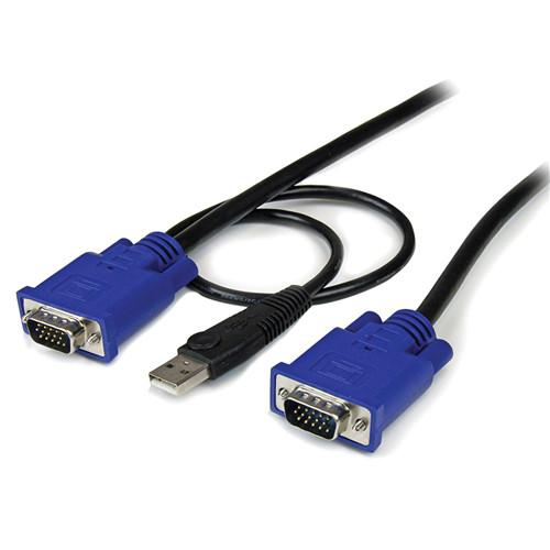StarTech 2-in-1 Ultra Thin USB VGA KVM Cable SVECONUS6