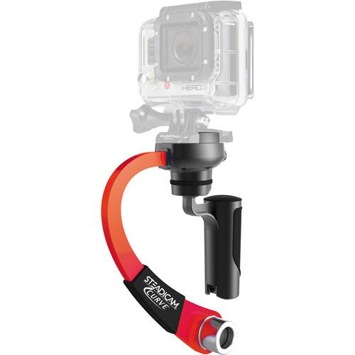 Steadicam Curve for GoPro HERO Action Cameras (Red) CURVE-RD