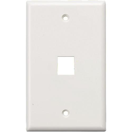 Tera Grand Wall Plate for Keystone Insert WAPL-PORT-1WH