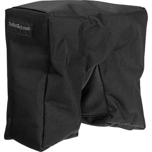 THE VEST GUY Bean Bag Camera Support - (Small, Black) 10305BS