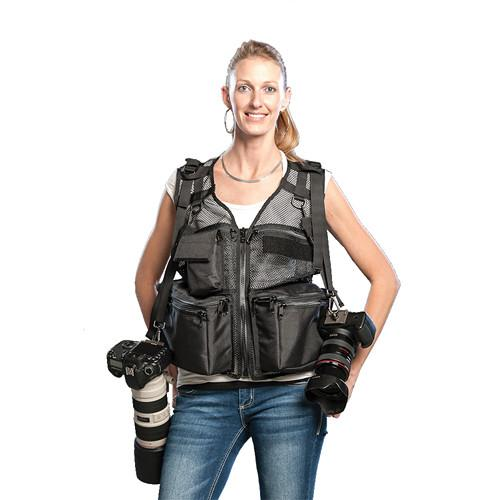 THE VEST GUY Wedding Photographer Mesh Photo Vest 500026BMXXL