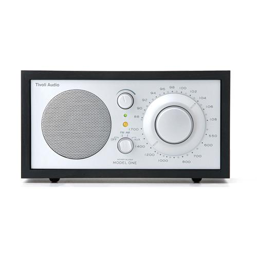 Tivoli Model One Bluetooth AM/FM Radio (Black/Silver) M1BTSLB