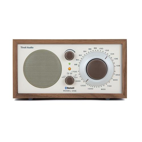 Tivoli Model One Bluetooth AM/FM Radio (Walnut/Beige) M1BTCLA