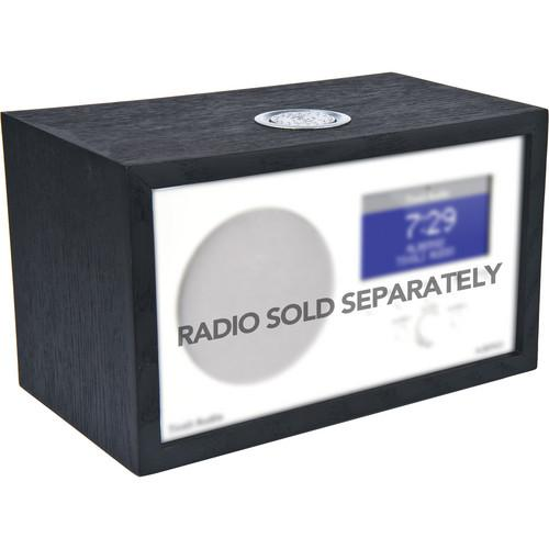 Tivoli Wood Cabinet for Albergo Clock Radio (Black Ash) AKITBK