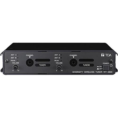 Toa Electronics WT-4820 Modular Dual-Channel Wireless WT-4820 US