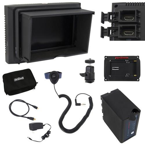 VariZoom VZM5 Monitor Deluxe Kit with Sunhood/Screen VZ-M5K