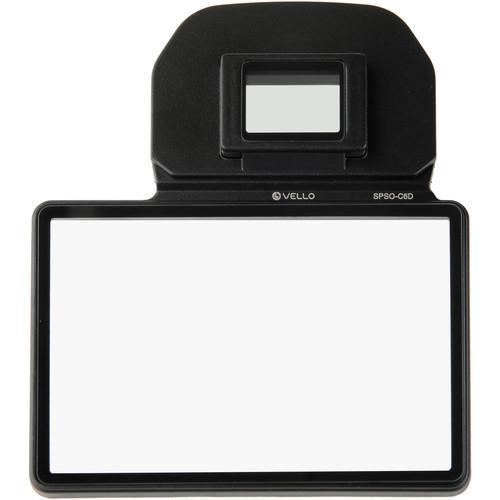 User Manual Vello Snap On Glass Lcd Screen Protector For Canon 6d