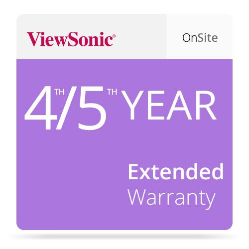 ViewSonic CD-EW-65-02 Extended On-Site Warranty CD-EW-65-02
