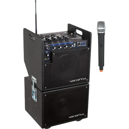 VocoPro MOBILEMAN 1 Battery-Powered P.A. System MOBILEMAN 1