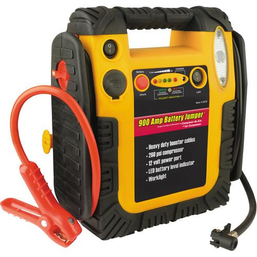 WAGAN 900Amp Jump Starter/Portable Power Station 2412