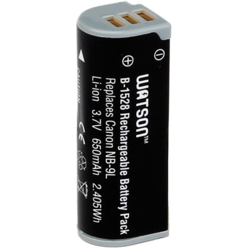 Watson NB-9L Lithium-Ion Battery Pack (3.7V, 650mAh) B-1528