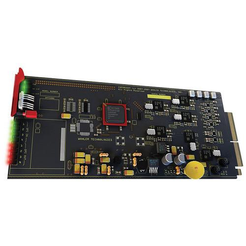 Wohler HDCC-OP47MULTI SD/HD Closed Captioning Board 829200