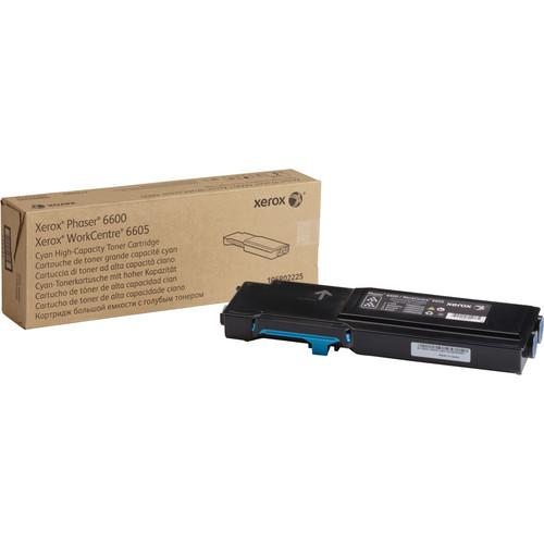 Xerox High Capacity Cyan Toner Cartridge for Phaser 106R02225