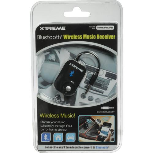 Xtreme Cables Bluetooth Wireless Music Receiver (Black) 51901