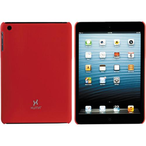 Xuma Hard Snap-on Case for iPad mini 1st Generation (Red)