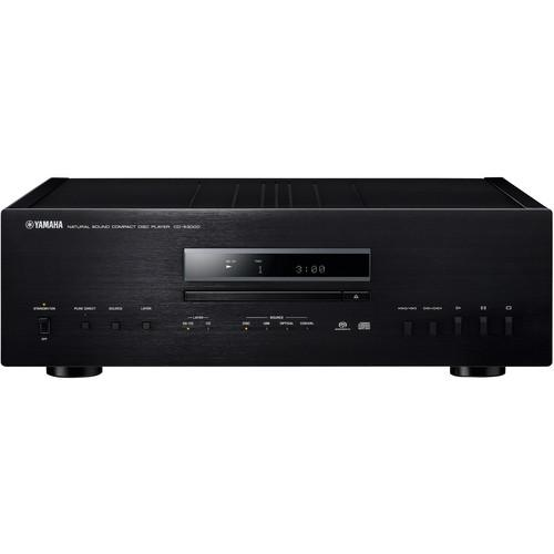Yamaha CD-S3000 Natural Sound CD Player (Black) CD-S3000BL