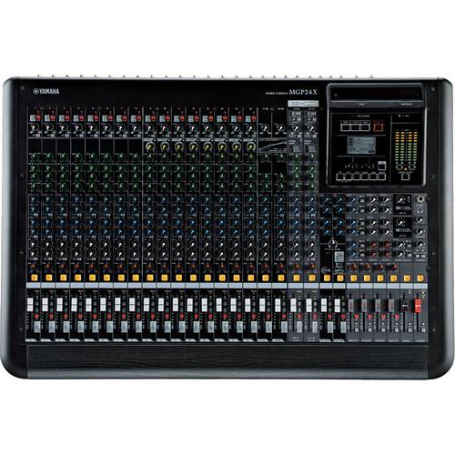 Yamaha MGP24X 24-Channel Analog Mixing Console with DSP MGP24X
